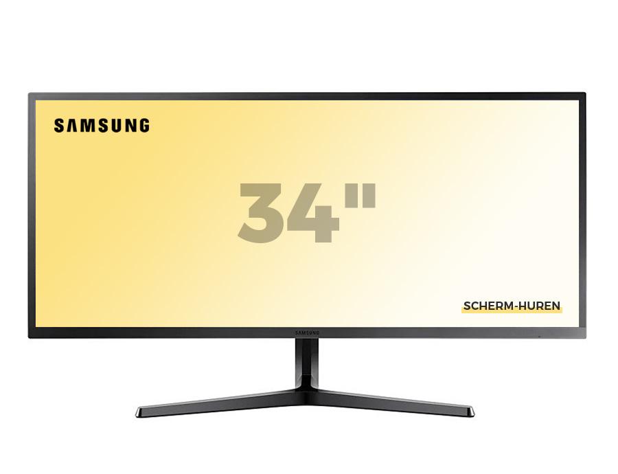 Samsung 34 inch Scherm Huren