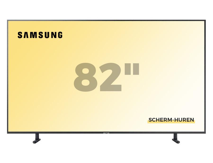 Samsung 82 inch Scherm Huren